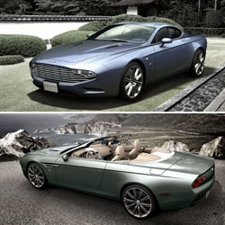 Zagato Atelier pays tribute to Aston Martin's 100th Anniversary with the announcement of two very special projects: the DBS Coupé Zagato Centennial and the DB9 Spyder Zagato Centennial.