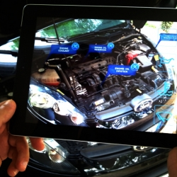 I-Mechanic, the Augmented Reality Application that helps in ordinary maintenance of car engines, is now on Indiegogo.