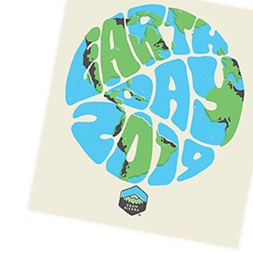 Sierra Club Earth Day 2019 Stickers!