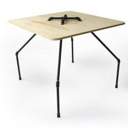 'MT-01' table by Duosuno Design is part of their 'Open Tap Project'.