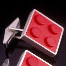 LEGO-esque cufflinks