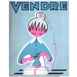 April 1958 - Vendre design magazine - french design trade magazine via grainedit.com