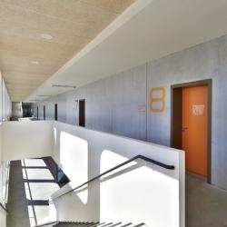 'Alienor d'Aquitaine' school in Bordeaux by Baudin Limouzin Architects.