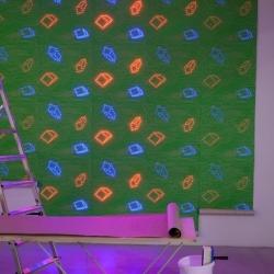 'LED Wallpaper' by Ingo Maurer.