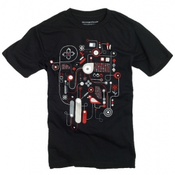 "A new shirt over at Design by Humans called ""Circular Reasoning.""  As they put it ""Beautiful design designed beautifully!"