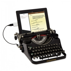 Plug your iPad into designer Jack Zylkin's functional USB Typewriter.