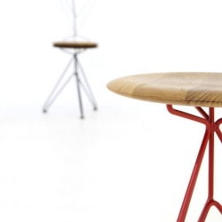 'SuperSputnik' stool by Ahmet Sismanoglu.