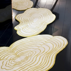 'Cloud' rug by Elise Fouin for Chevalier Edition.