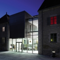 'Gustave Courbet' Museum in Ornans - France by 2/3/4 Architecture.