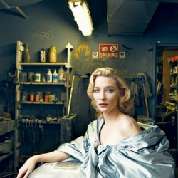 New photography work by Annie Leibovitz featuring Cate Blanchett for Vanity Fair.