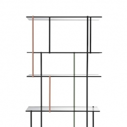 'Drizzle' shelving system by Luca Nichetto for Gallotti & Radice.
