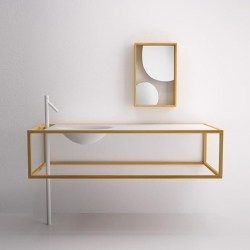 'Nendo Collection' bathroom furniture by Studio Nendo for Bisazza Bagno.