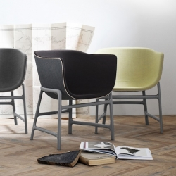 'Minuscule' chair and table collection by Cecilie Manz.