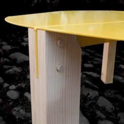 Table 'Tools' by Thomas Merlin for Entreautre