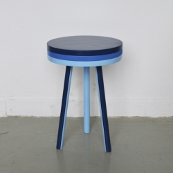 Stool 'Modeste' by designer Paul Menand of Strasbourg, France.