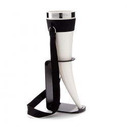 Das Horn - drinking horn! With a drinking horn in hand, you are going to storm your next tailgate party like a viking king.