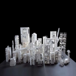 The exhibition 'Paper Architecture' will be presented to the 'Cité de l'Architecture et du Patrimoine' in Paris from October 11, 2012.