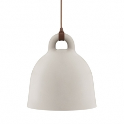 For the Danish publisher Normann Copenhagen, designers Andreas Lund and Jacob Rudbeck  imagined the lamp 'Bell'.