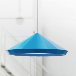 Designed by Henrik Preutz and proposed in blue, yellow and black, this suspension is for the IKEA PS Collection 2012.