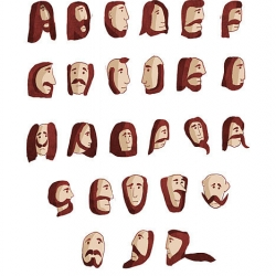 The Beard Font - coolest font i've seen in a while!