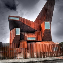 Church of Santa Monica in Madrid, Spain. Designed by Vicens + Ramos #10023