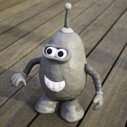 Mr. Potato Mash ~ Ashley Ringrose  makes some hilarious Mr. Potato Heads ~ including this one of bender!