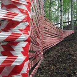 Caution! Nature tree area! 