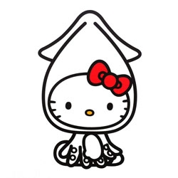 Hello Kitty does cosplay in an exhibit showcasing Japan's regional charms, in collaboration with Tokyo's Fukoku Life Insurance Company, running through June 30.