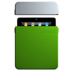 Check out the new iPad case by Draw, drawCase, machined from a solid block of aluminium, highly protective and very funky, functional yet minimalist design at its finest!