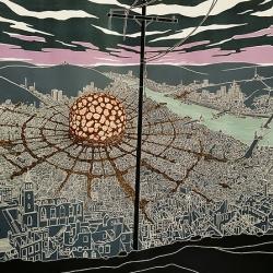 Epicenter.  By Rob Voerman, graphic artist.