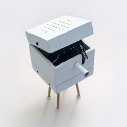 Silbo Gomero - an electronic whistling machine by Bildmekanik.