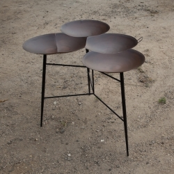 'Saj Tables' by the designers Noam Dover and Michal Cederbaum.