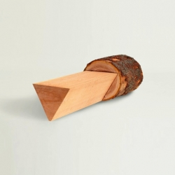 'Tree Furniture' bench by the designer Anton Alvarez with the American Hardwood Export Council.