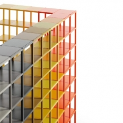 'Midi-Colors' furnitures collection by the Spanish designers from Lagranja for Sistema Midi.