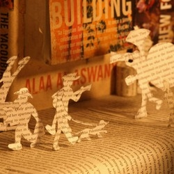 This is where we live - Fantastic stop motion created entirely of books.