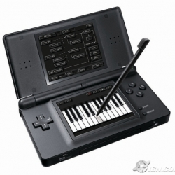 Korg and the Nintendo DS team up to bring you the DS-10! A piece of music creation software that simulates the famous Korg MS-10, a drum machine and sequencer!