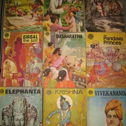 Ever wonder what 1970s Indian comics looked like?