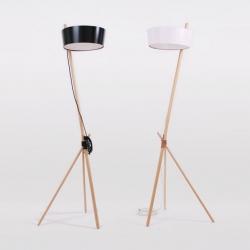 'Lamp Ka' by the Spanish designers Daniel García and María José Vargas  for Woodendot.