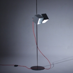 'Kinetic' floor lamp by the Latvian designer Aleksandr Dubickij.