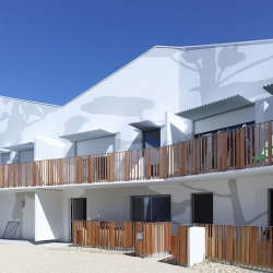 'Social housing' by the French architects from Tetrarc in Saint-Gilles Croix de Vie - France.