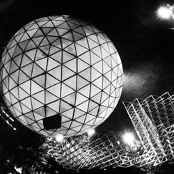 "Rich black and white photo essay on futuristic architect, engineer and inventor Buckminster ""Bucky"" Fuller."