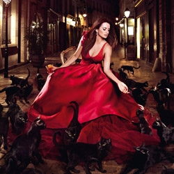 This year's Campari Calendar features Penelope Cruz, shot by noted fashion photographer, Kristian Schuller.