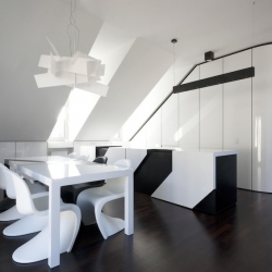 'Apartement interior' NIC by the architects N-lab in Sandweiler - Luxembourg.