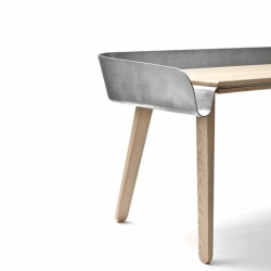 'Homework' Table by the Slovakian designer Tomas Kral for Super-ette.