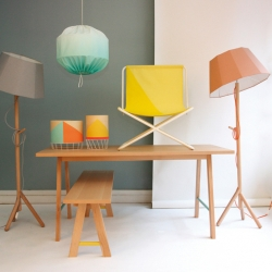 'Furniture collection' by the French designers Isabelle Gilles and Yann Poncelet for 'Colonel'.