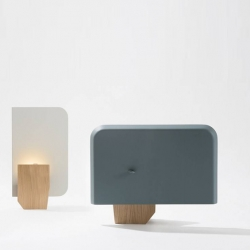 'Za-Za' small lamp by the French design studio 'Numero 111' for the Galerie Gosserez.