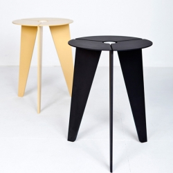 'Drilling' stool by the German designer Christian Kim.