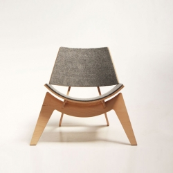 'Gaia' chair by the Chilean designer Pablo Llanquin.