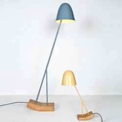 'Pilu' lamps by the German designer Leoni Werle.