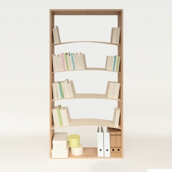'Bookshelf' by the Chinese designer Ivan Zhang.